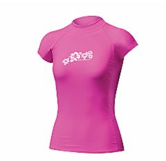 662815212-92 Ladies Rash Vest Cap Sleeve Pink.jpg