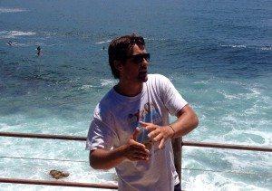 EcoTreasures tour guide Nige
