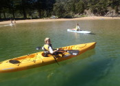 EcoTreasures paddle board and kayak and snorkel hire