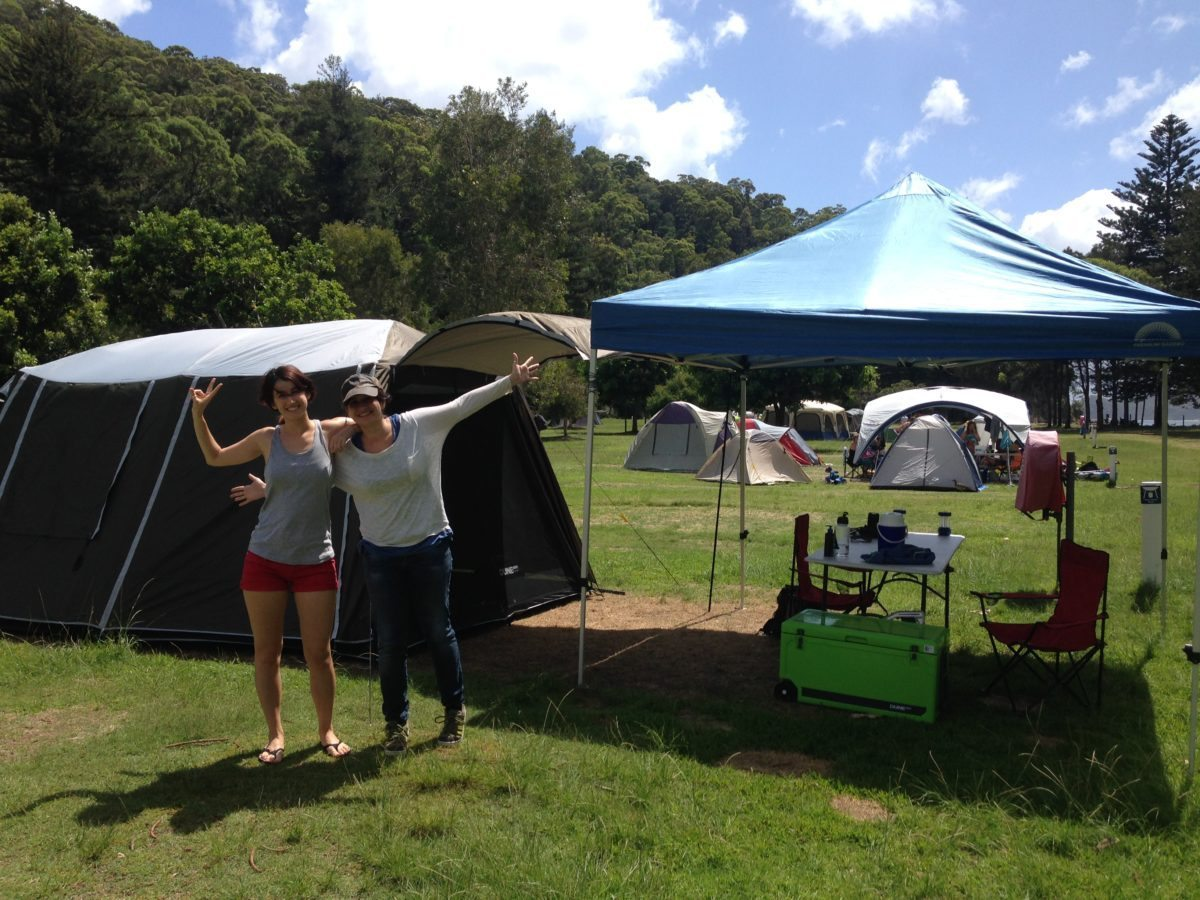 Sydney deluxe camping tour