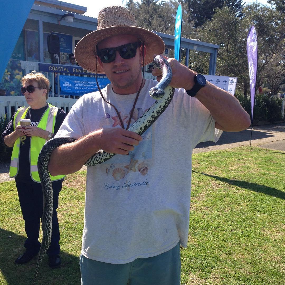 EcoTreasures Sydney Tour guides founder Damien McClellan