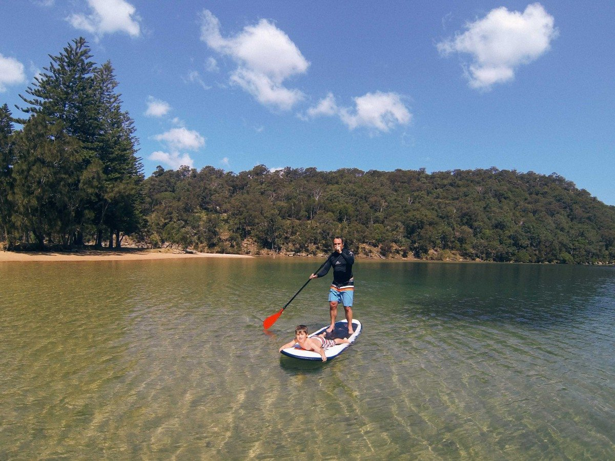 Paddleboard Kayak Snorkel Hire Basin/Pittwater