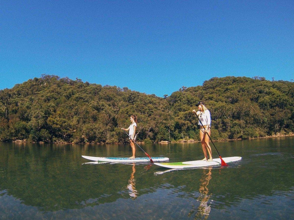 Basin Stand Up Paddle Boarding (SUP) Safari