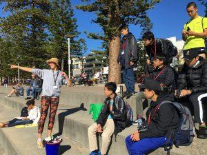 ECOTREASURES Manly coastal walking tour study tour