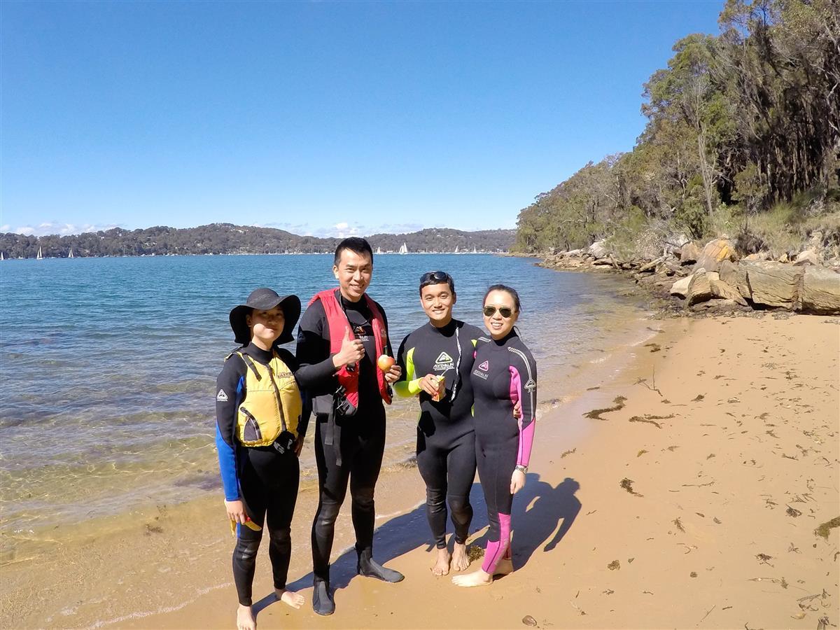 Ku-ring-gai Pittwater Kayak tour