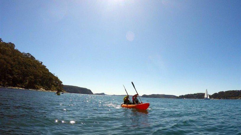 Pittwater Kayaking tour