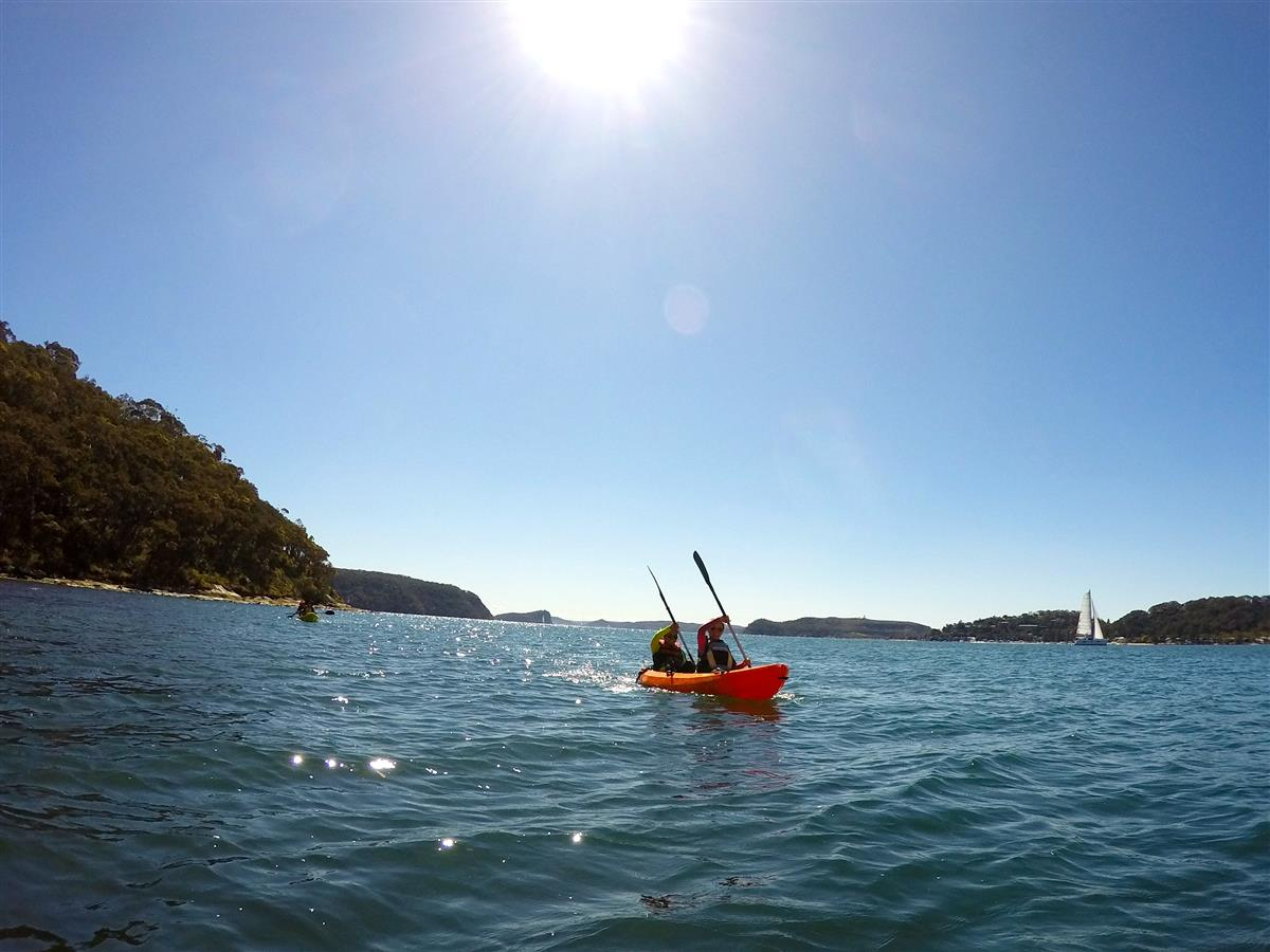 Pittwater Kayaking tour