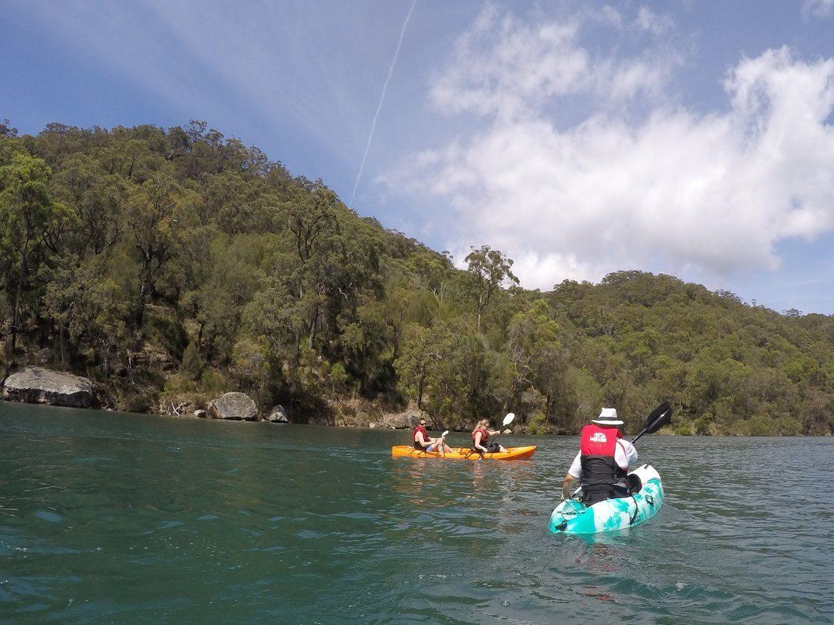 Basin kayak safari Sydney Pittwater