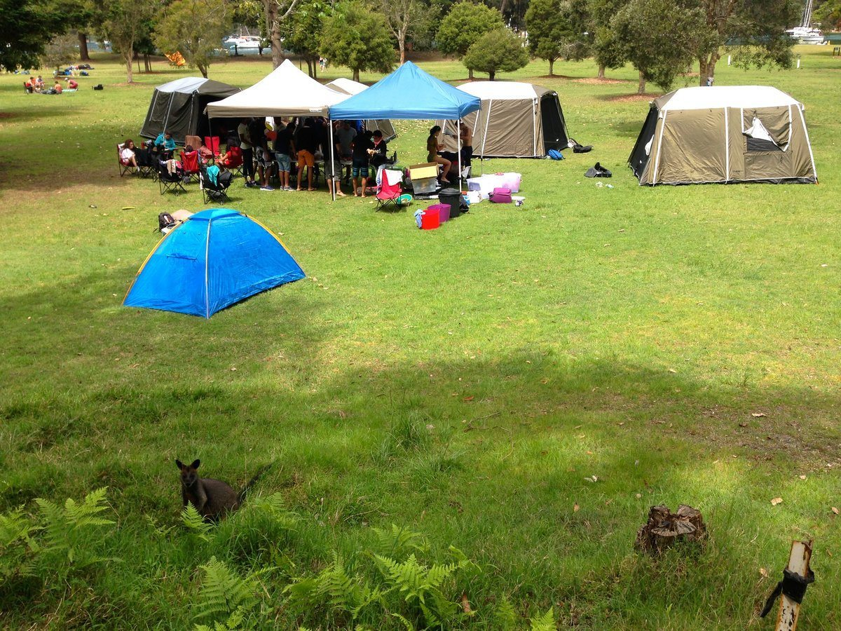 Camping at the Basin ecotreasures