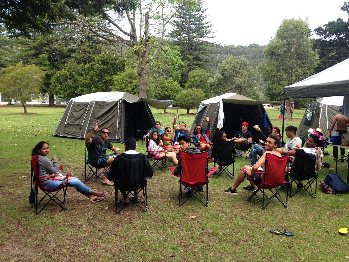 EcoTreasures Basin camping tour ku-ring-gai Sydney