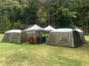 EcoTreasures Sydney Deluxe camping experience