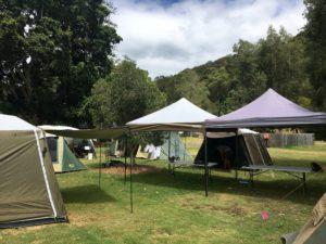 Assisted camping ecotreasures