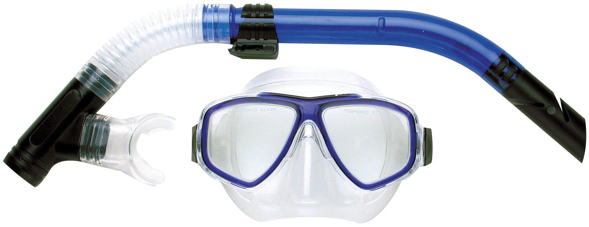 Snorkeling masks aristocrat-twinlens-silic-set