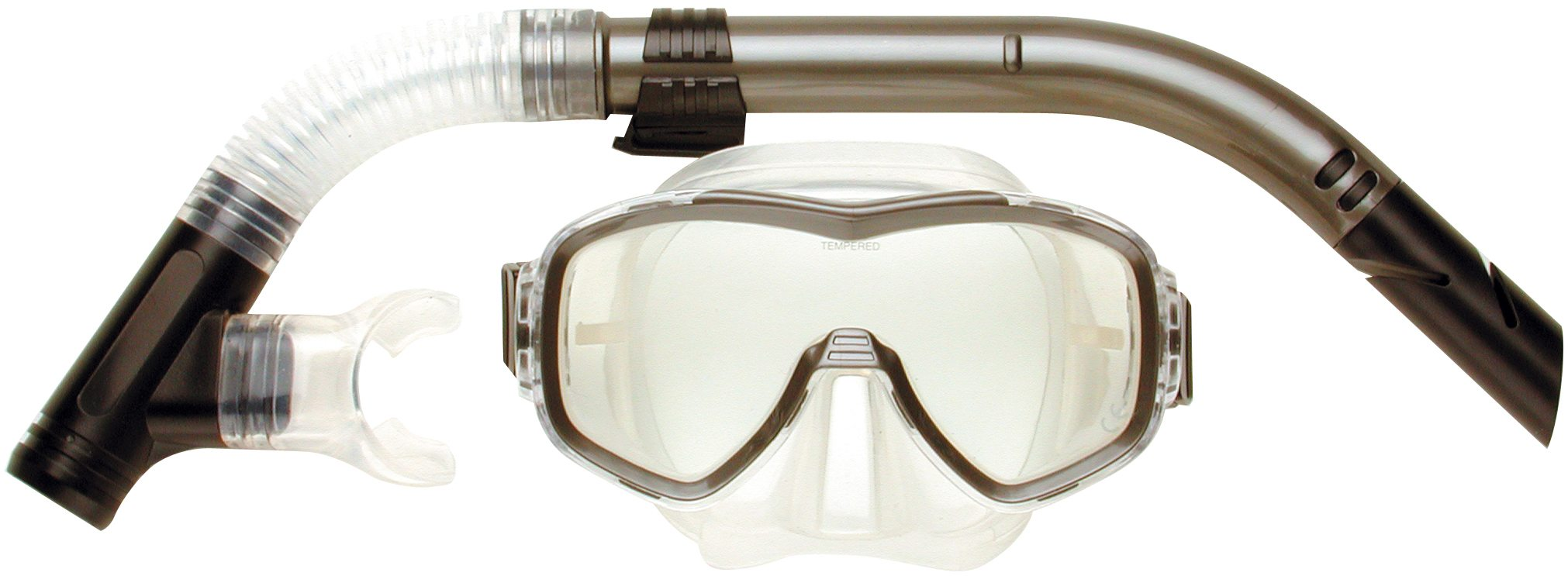 Snorkeling gear-aristocrat-one-lens-silic-set