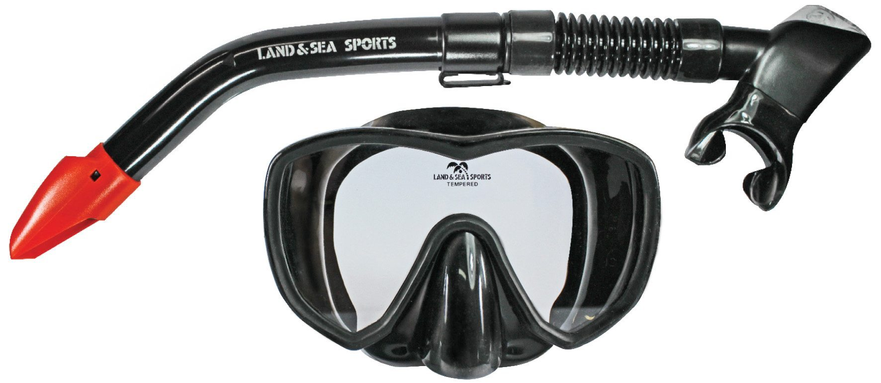 snorkeling masks black-marlin-silicone-set