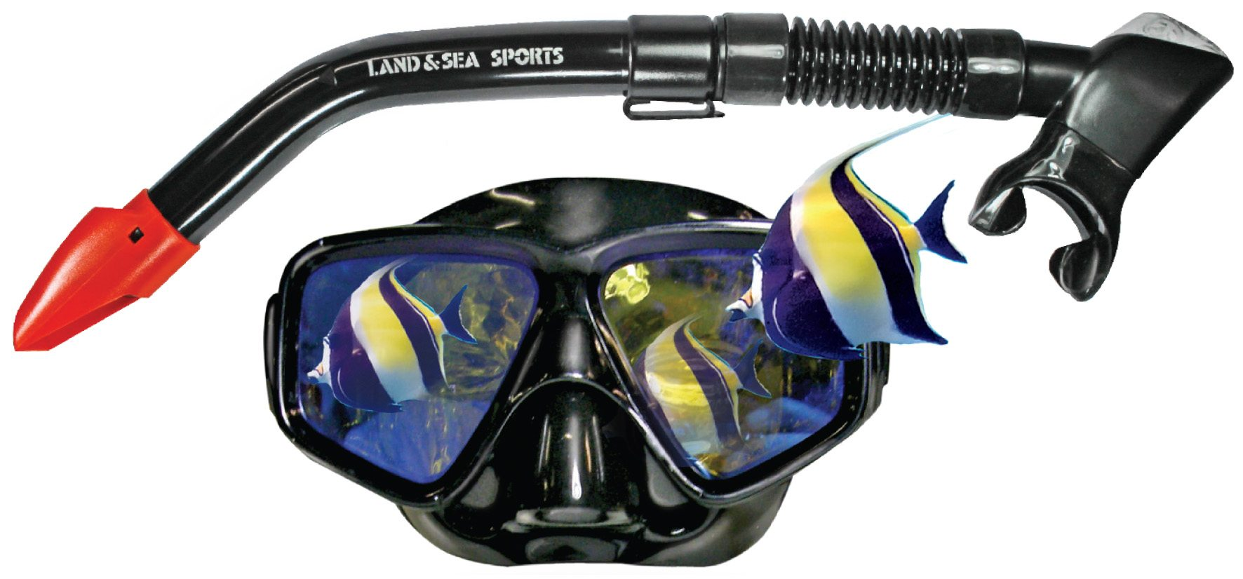 Snorkel set-black-mirror-snorkel-set