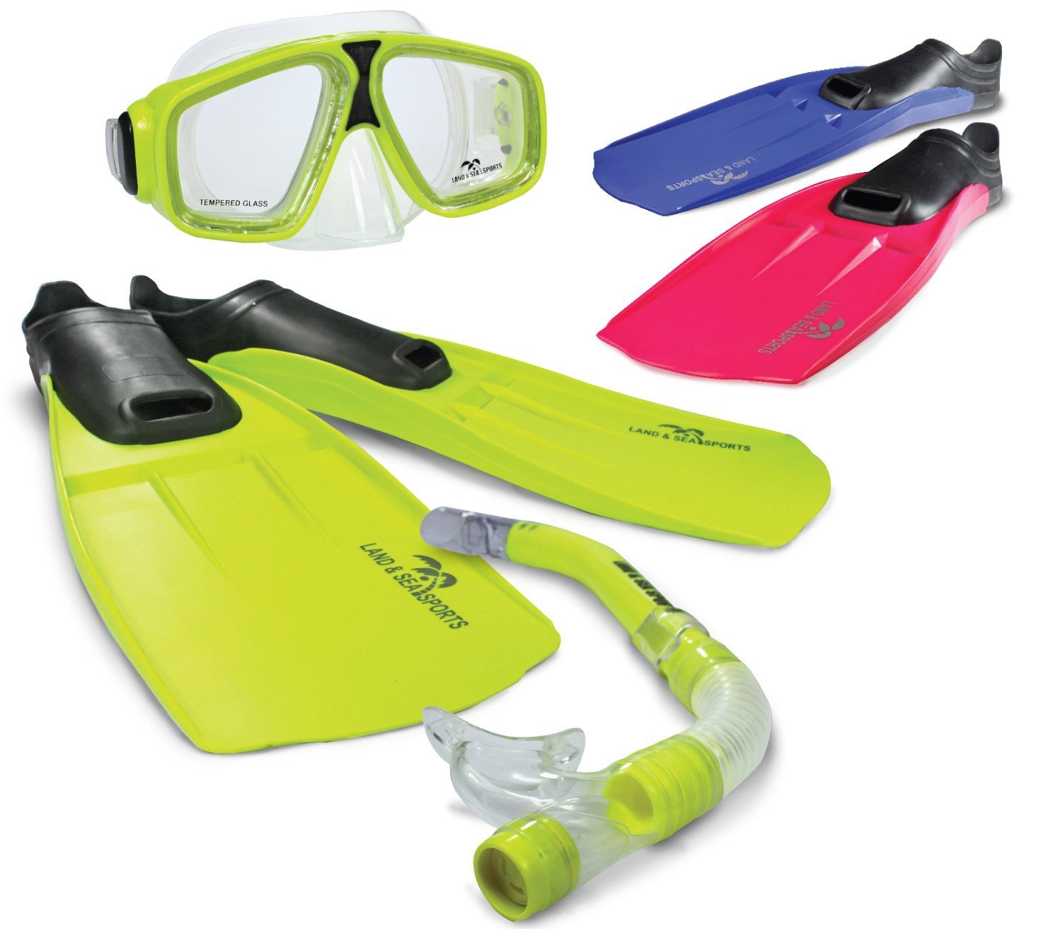 Adventurer complete snorkel set