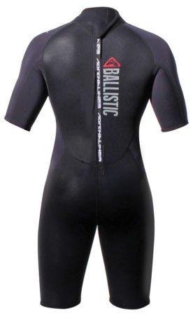spring wetsuit-ballistic-2mm-spring-suit-back