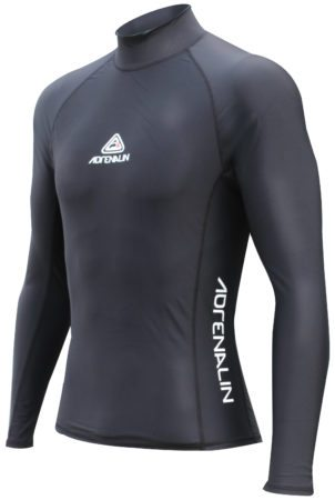 wetsuits mens-rashie-ls-black