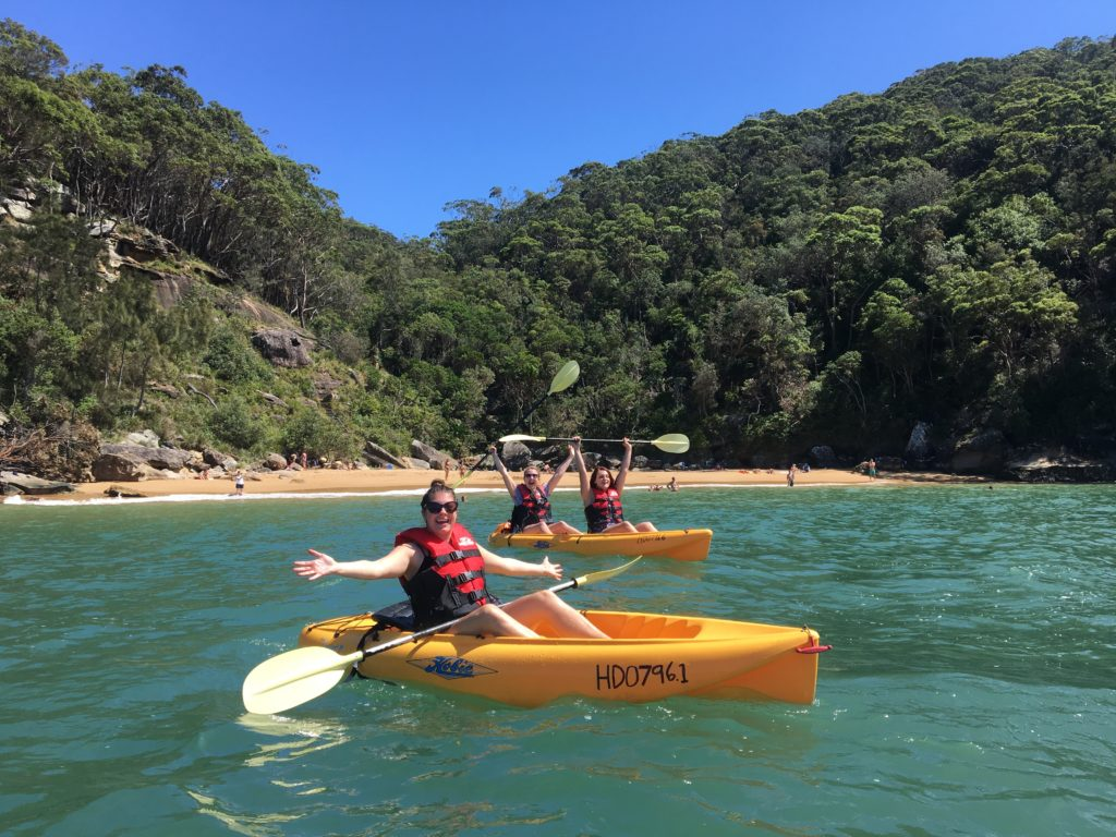 Pittwater kayak tour