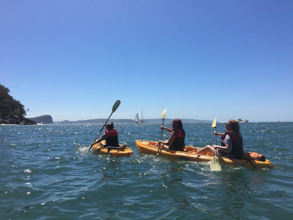 Piitwater kayak tour