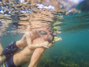 Joel Parkinson private snorkel tour with ecotreasures