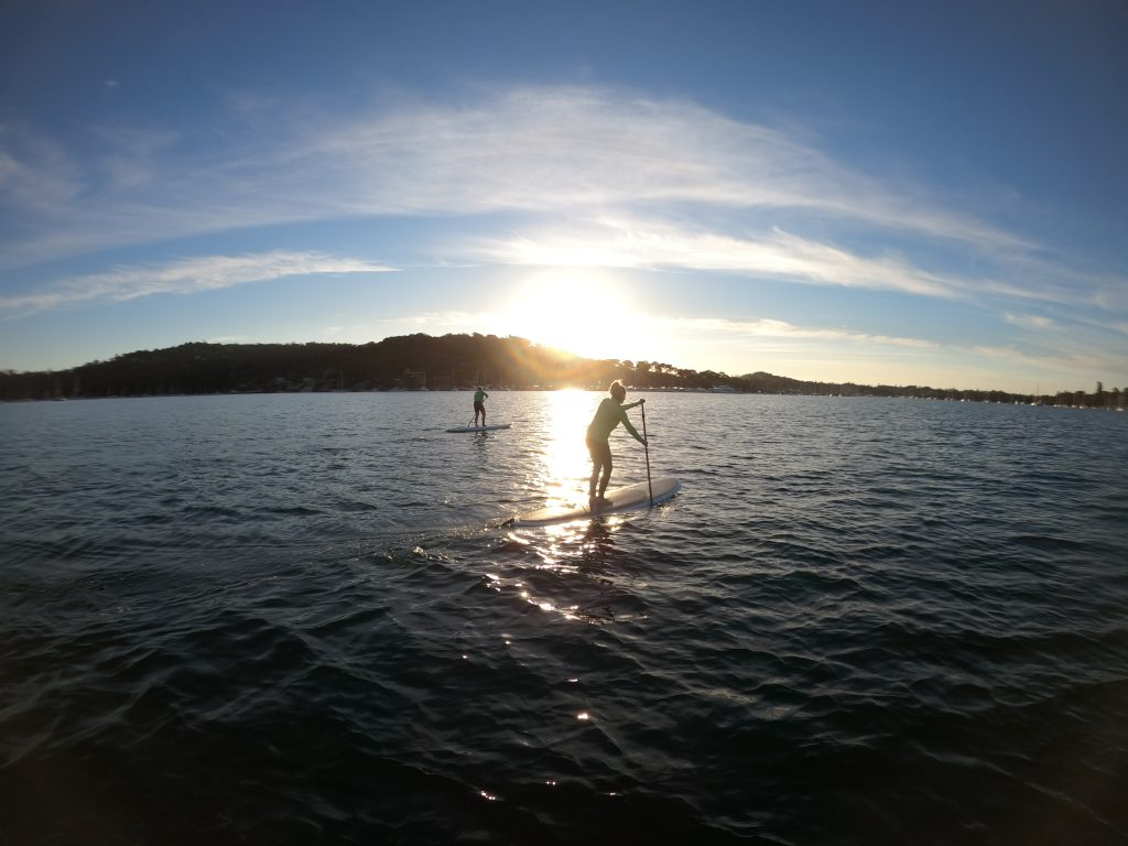 ECOTREASURES Paddle boarding lesson and SUP club Pittwater.jpeg